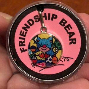 NWOT! Alex and Ani Friendship Bear Charm